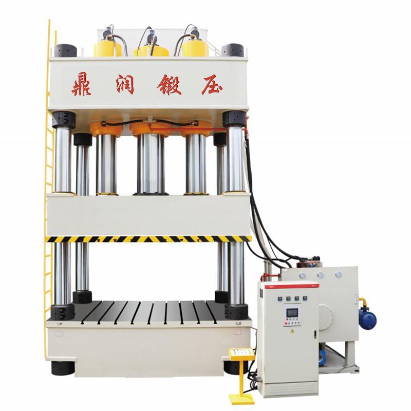 1000吨三缸四柱液压机