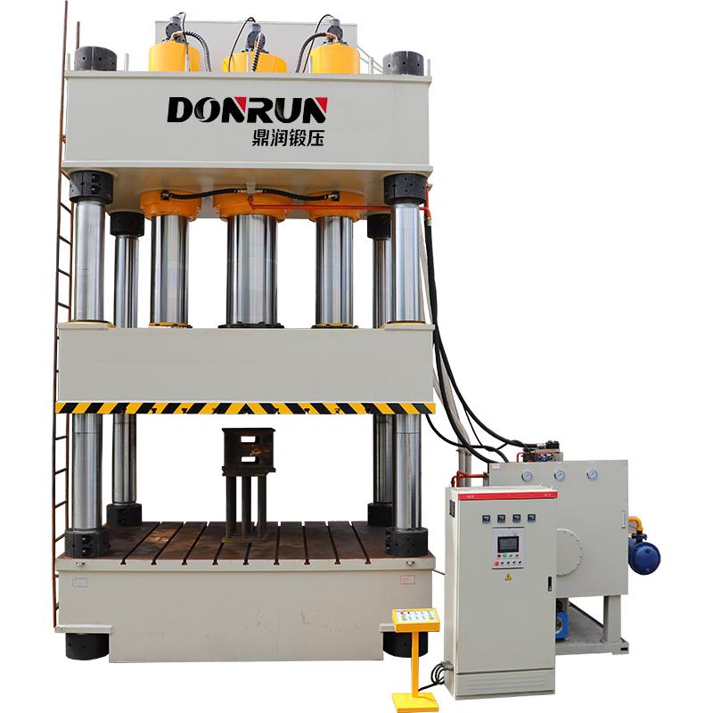 1800吨四柱液压机